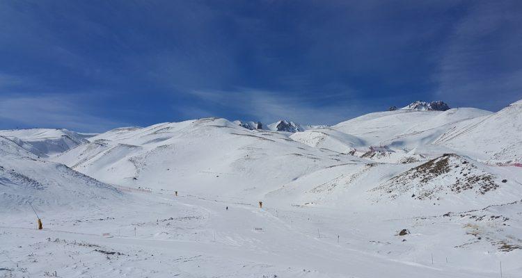 Erciyes Kayak merkezi pistleri