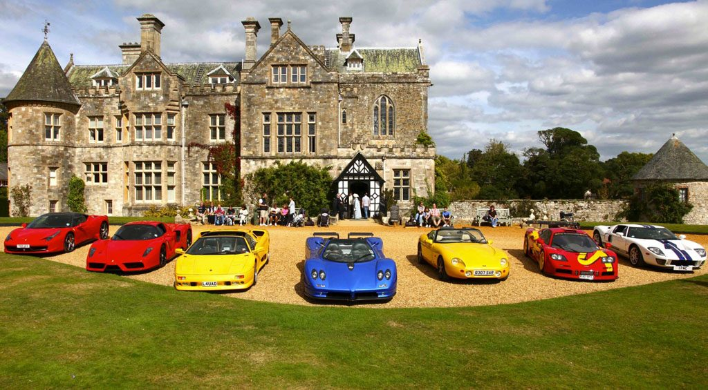 sport cars new forest
