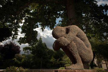 anna-gillespie-nature-art-sculptures-acorns-beechnut-casings-bronze-2