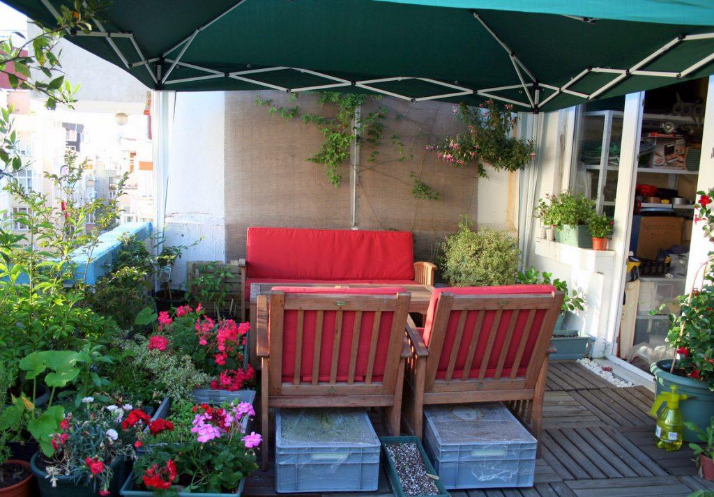 teras bahçeciliği