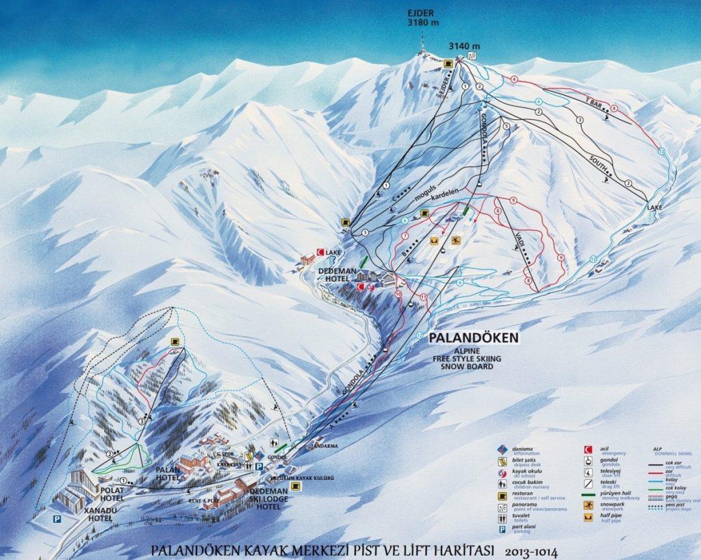 Palandoken Kayak Merkezi Rehberi Mortepe